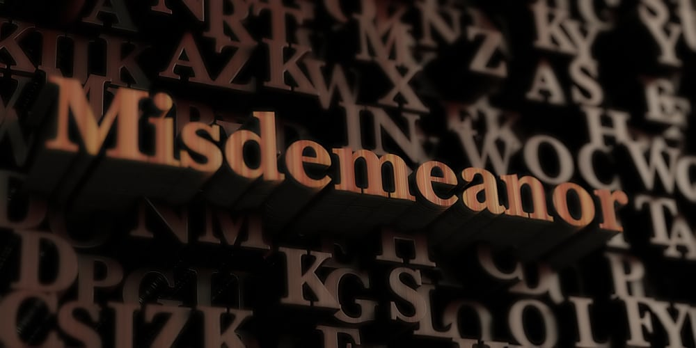 Classification of Misdemeanors in Wisconsin