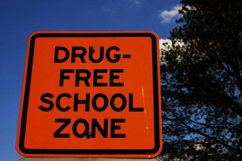 Increased Penalties for Drug Crimes Near a School